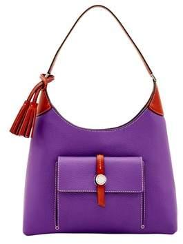 Dooney & Bourke Cambridge Hobo Shoulder Bag. - VIOLET - STYLE