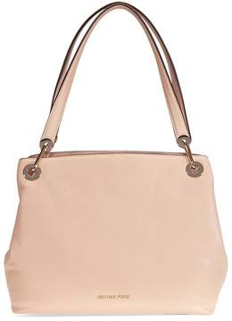 Michael Kors Raven Large Leather Shoulder Bag - Oyster - ONE COLOR - STYLE