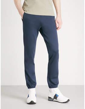 BOSS GREEN Relaxed-fit jersey jogging bottoms