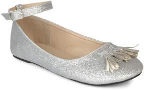 Journee Collection Silver Bardot Ballet Flat