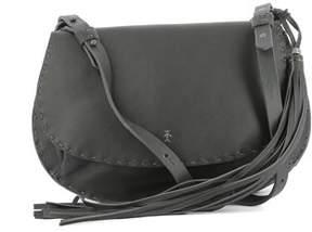 Henry Beguelin Women's Grey Leather Shoulder Bag.