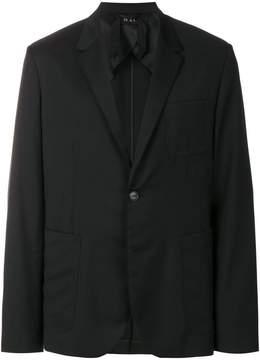 No.21 classic buttoned blazer