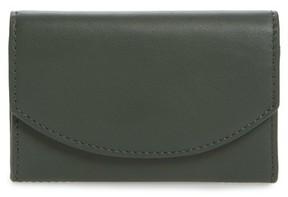Women's Skagen Leather Card Case - Green