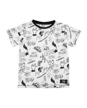Molo Ragnij Short-Sleeve Graphic T-Shirt, Size 4-12