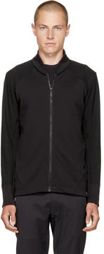 Arcteryx Veilance Black Graph Zip Sweater