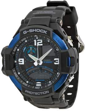 Casio G Shock Black Dial Black Resin Men's Watch