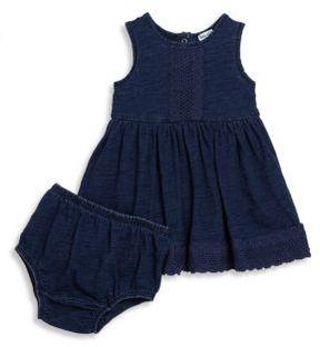 Splendid Baby's Sleeveless Dress & Bloomers Set