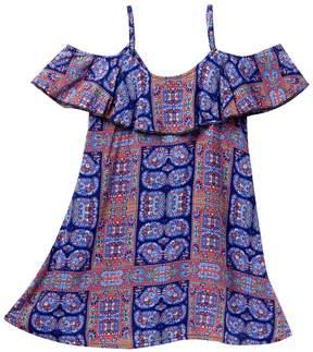 Tucker + Tate Off-The-Shoulder Floral Dress (Little Girls & Big Girls)