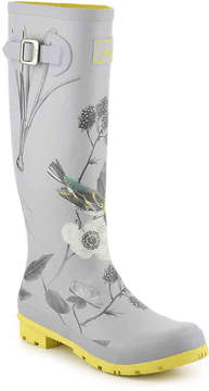 Joules Women's BP Welly Floral Rain Boot