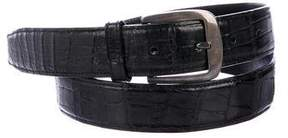 Salvatore Ferragamo Alligator Belt