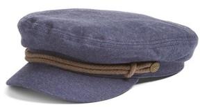 Brixton Women's 'Fiddler' Newsboy Cap - Blue