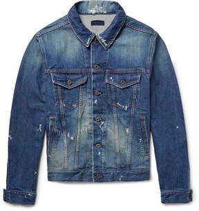Simon Miller Distressed Denim Jacket