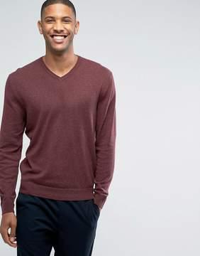 Esprit V-Neck Cashmere Mix Sweater