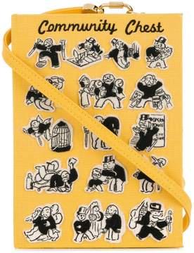 Olympia Le-Tan 'Community chest' clutch bag