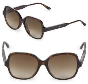 Bottega Veneta Gradient 54MM Square Sunglasses