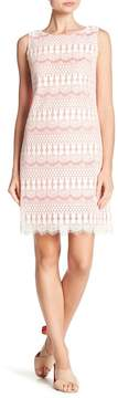 Eliza J Sleeveless Shift Dress