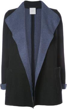 Agnona oversized lapel blazer jacket
