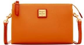 Dooney & Bourke Eva Janine Crossbody Shoulder Bag - CARAMEL - STYLE