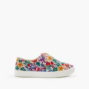 J.Crew Girls' elastic slide sneakers in Liberty® floral