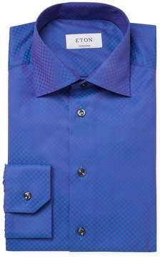 Eton Men's Circles Contemporary Fit Dress Shirt