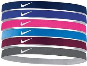 Nike 6-pk. Solid Headband Set