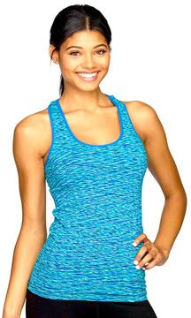 Colosseum Women's Space-Dye Seamless Workout Tank