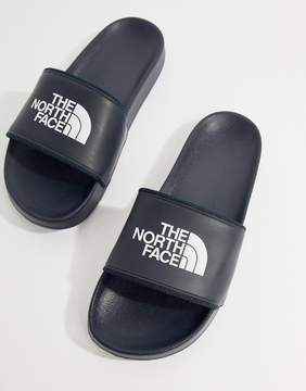 The North Face Base Camp Sliders II in Navy/White
