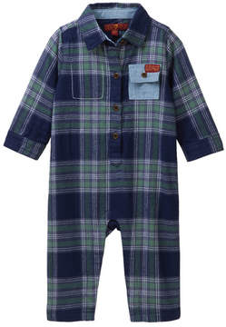 7 For All Mankind Coverall (Baby Boys 0-3M)