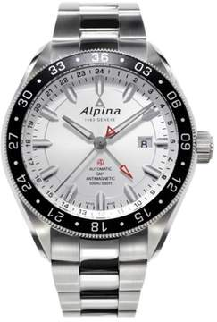 Alpina AL-550S5AQ6B Stainless Steel Automatic 44mm Mens Watch