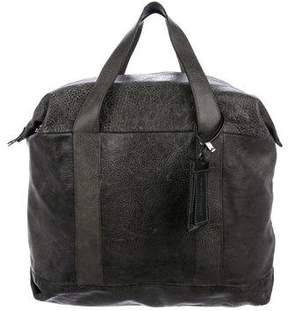 Brunello Cucinelli Textured Leather Bag