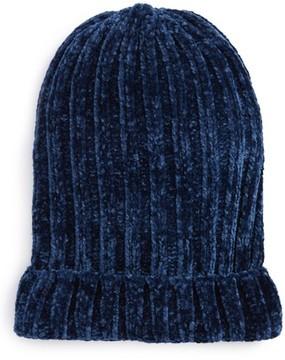 Free People Women's Huggy Bear Chenille Beanie - Blue