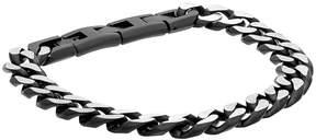 Lynx LYNXMen's Stainless Steel Curb Chain Bracelet