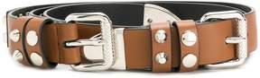 Prada studded belt