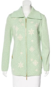Escada Wool Quilted Jacket w/ Tags
