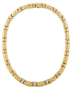 Boucheron 18K Diamond Necklace