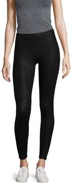 David Lerner Women's Coated Detail Leggings