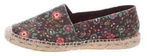 Etoile Isabel Marant Floral Print Round-Toe Espadrilles