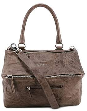 Givenchy Women's Grey Leather Shoulder Bag.