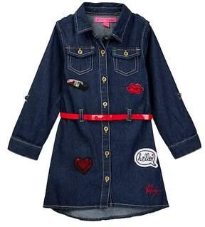Betsey Johnson Denim Dress (Big Girls)