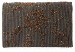 Brunello Cucinelli Embroidered Leather Crossbody Belt Bag