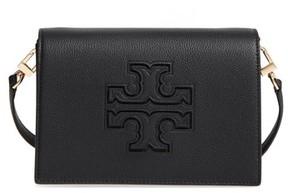 Tory Burch Harper Leather Clutch - Black