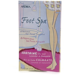 Andrea Foot Spa Soothing Jelly Soak Lavender & Chamomile