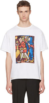 J.W.Anderson White Stain Glass T-Shirt