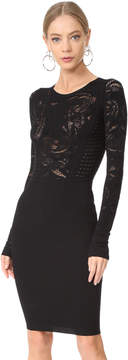 Versace Tattoo Knit Dress