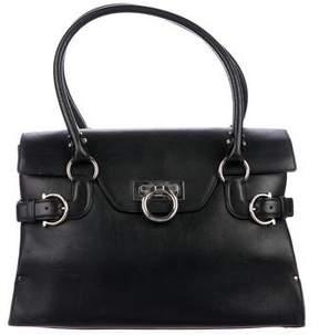 Salvatore Ferragamo Smooth Leather Handle Bag