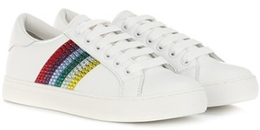 Marc Jacobs Empire Low embellished leather sneakers