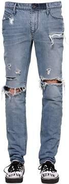 RtA 17.5cm Slim Destroyed Washed Denim Jeans