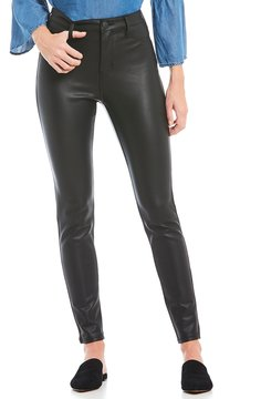 Celebrity Pink High Rise Coated Skinny Jeans