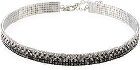 Fragments for Neiman Marcus Thin Black Crystal Choker