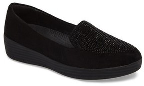 FitFlop Women's Sparkly Sneakerloafer Slip-On